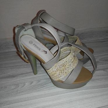 Nenosene sandále