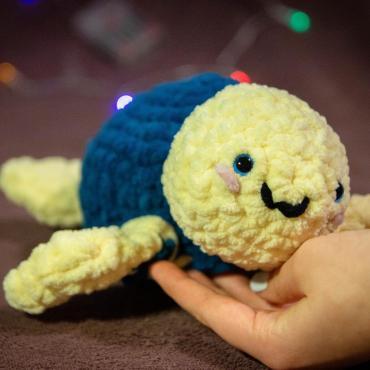 Hačkovaná korytnačka(zvieratko/hračka)