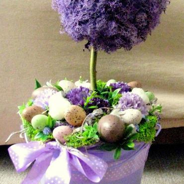 Jarný stromček fialový