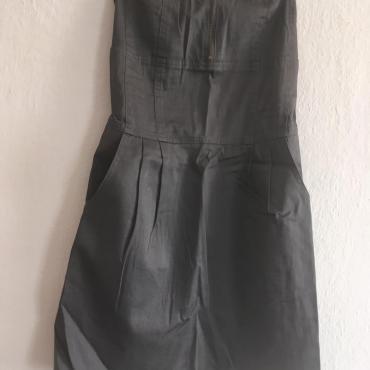 sivé šaty