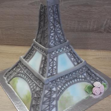 Torta na zelanie Eiffelovka